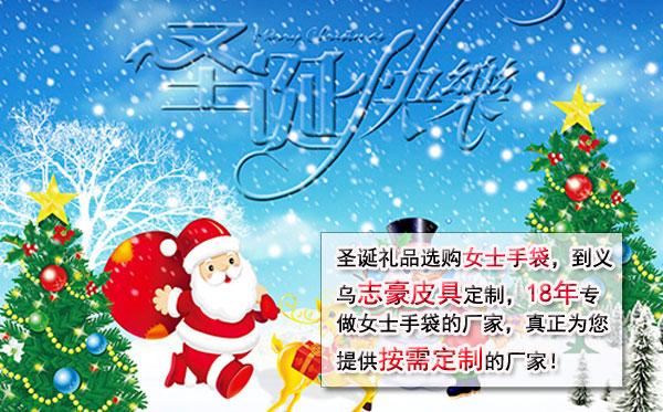 【圣诞节】 志豪皮具定制的女士手袋巴西热销