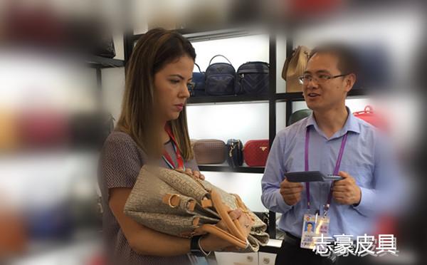 广交会之后,义乌【手袋厂】又迎来巴西客户